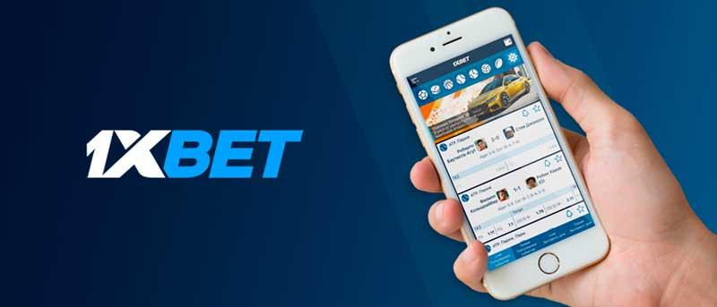 l'application mobile 1xBet
